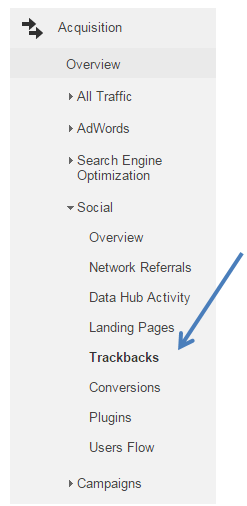 trackbacks-google-analytics-navigation